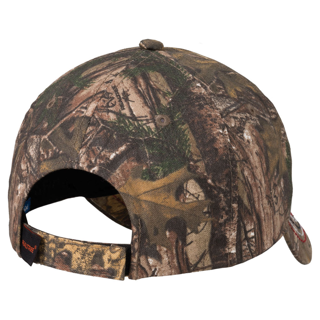 Port Authority Americana Contrast Realtree Xtra Stitch Camouflage Cap