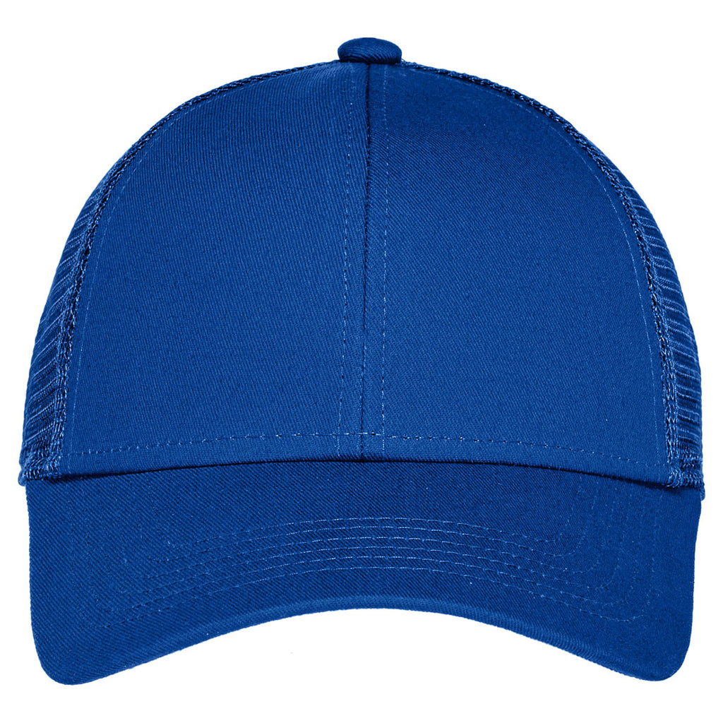 Port Authority Radiant Royal Adjustable Mesh Back Cap