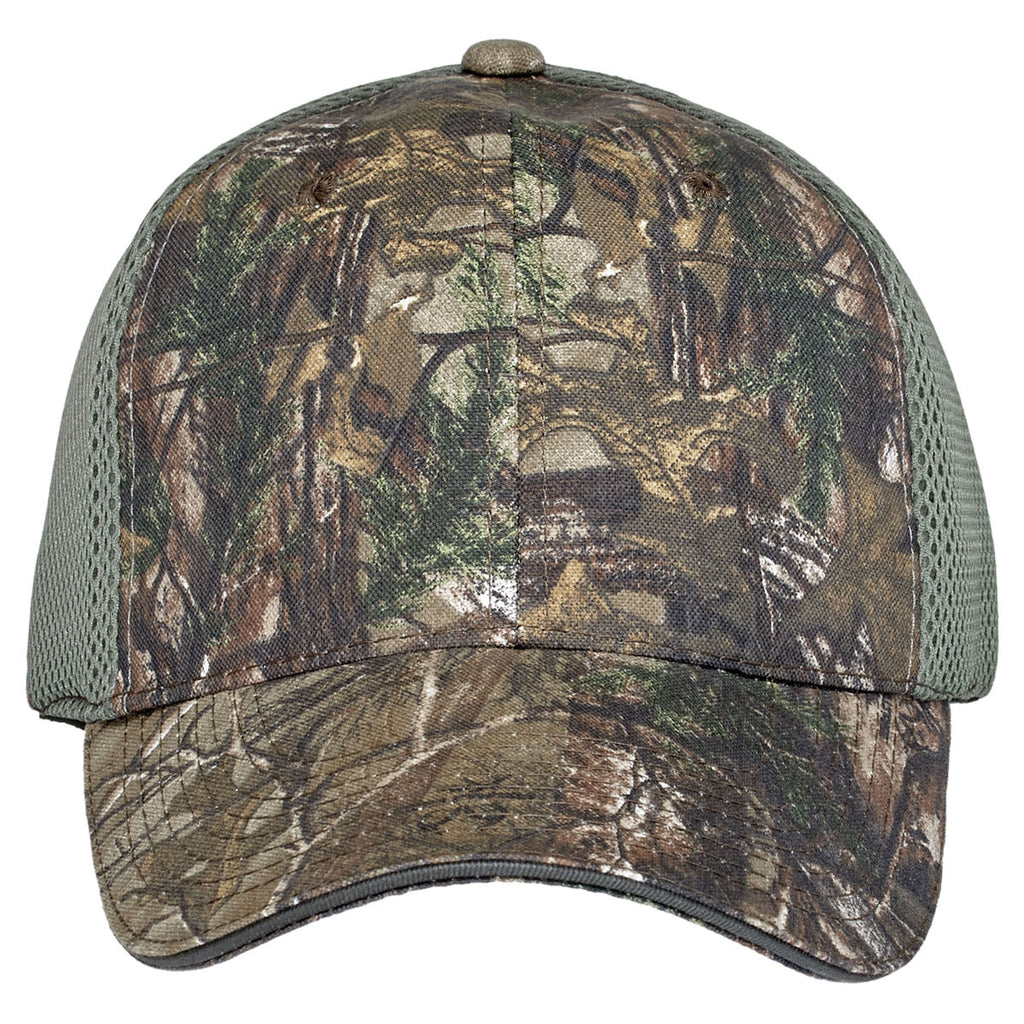 Port Authority Realtree Xtra/Green Mesh Camouflage Cap with Air Mesh Back
