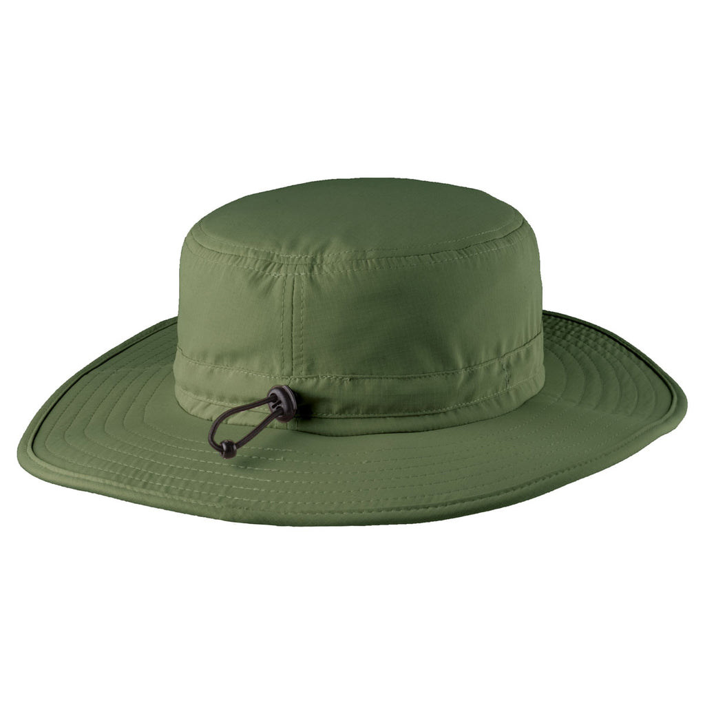 Port Authority Olive Leaf Outdoor Wide-Brim Hat c9f32fa2f91