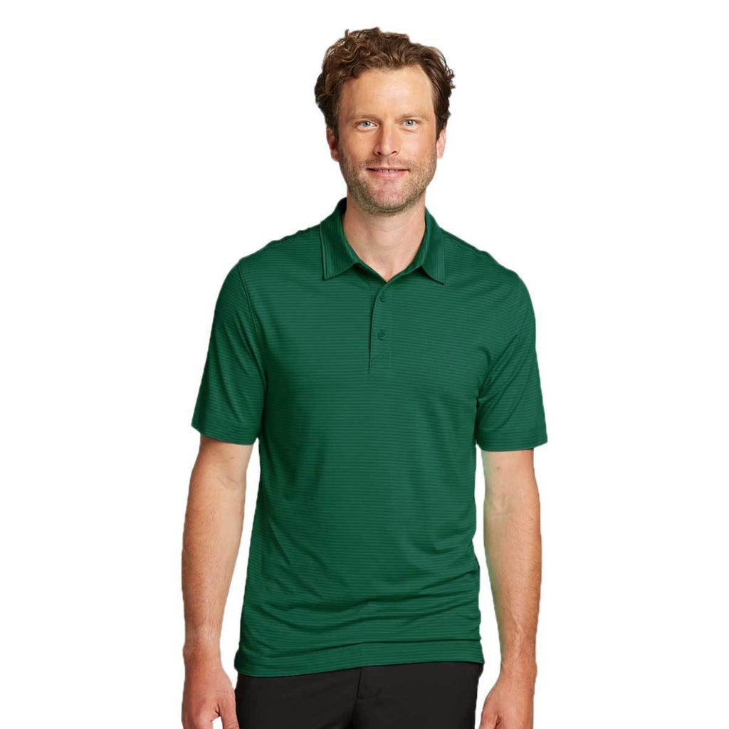 Cutter & Buck Men's Hunter Forge Polo Pencil Stripe