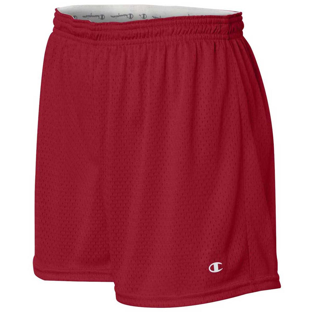 Champion Women's Scarlet Tagless Active Mesh Shorts