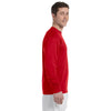 Champion Men's 5.2 oz Red L/S Tagless T-Shirt