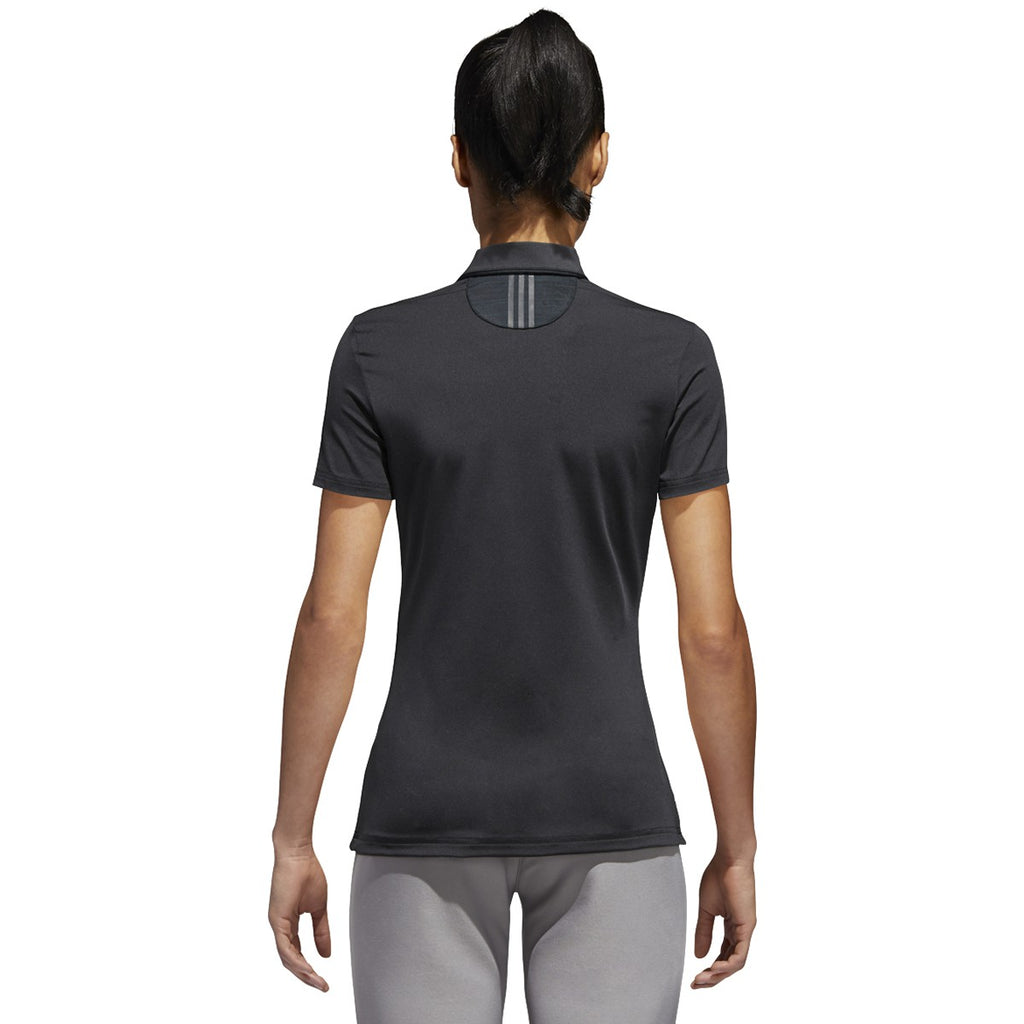 adidas Women's Black Ultimate Polo