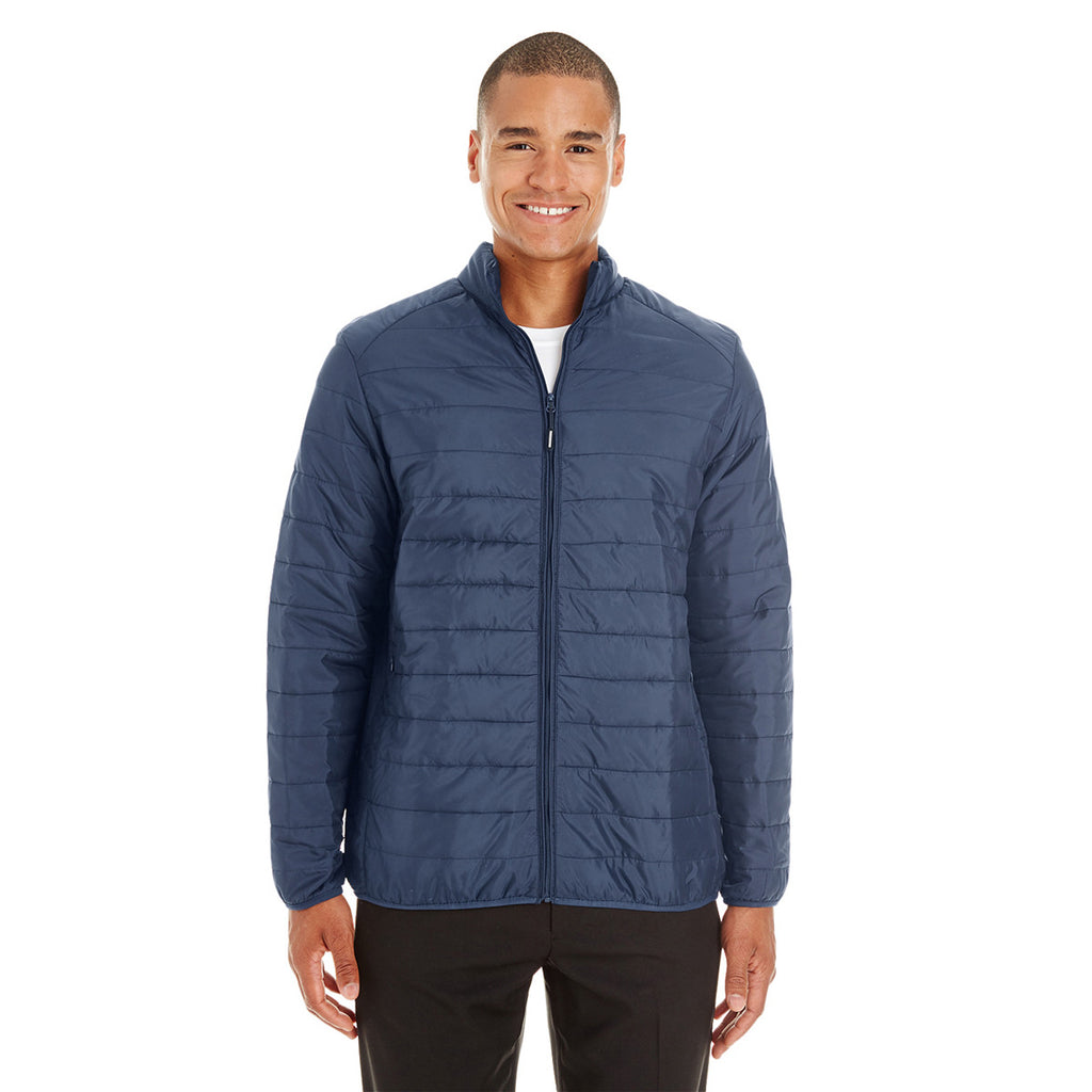 Core 365 Men's Classic Navy Prevail Packable Puffer