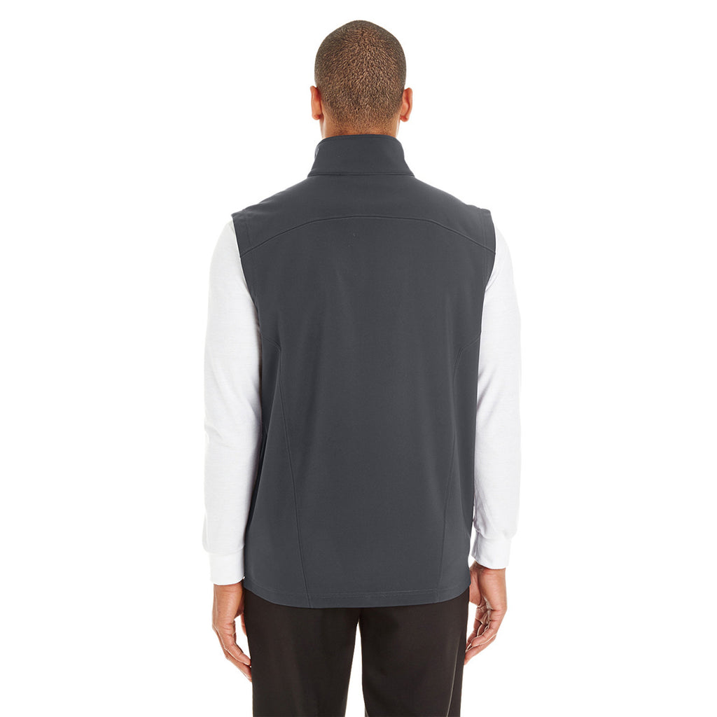 Core 365 Men's Carbon Cruise Two-Layer Fleece Bonded Soft Shell Vest