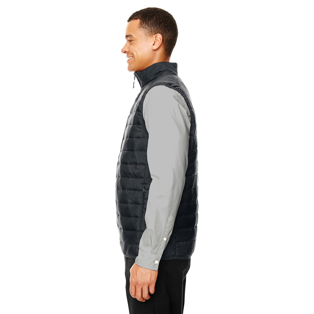 Core 365 Men's Black Prevail Packable Puffer Vest