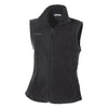 columbia-womens-black-fleece-vest