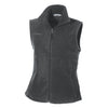 columbia-womens-charcoal-fleece-vest