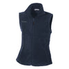 columbia-womens-navy-fleece-vest