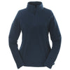 Columbia Women's Navy Quarter-Zip Crescent Valley Microfleece