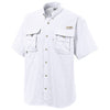 Columbia Men's White Bahama II S/S Shirt