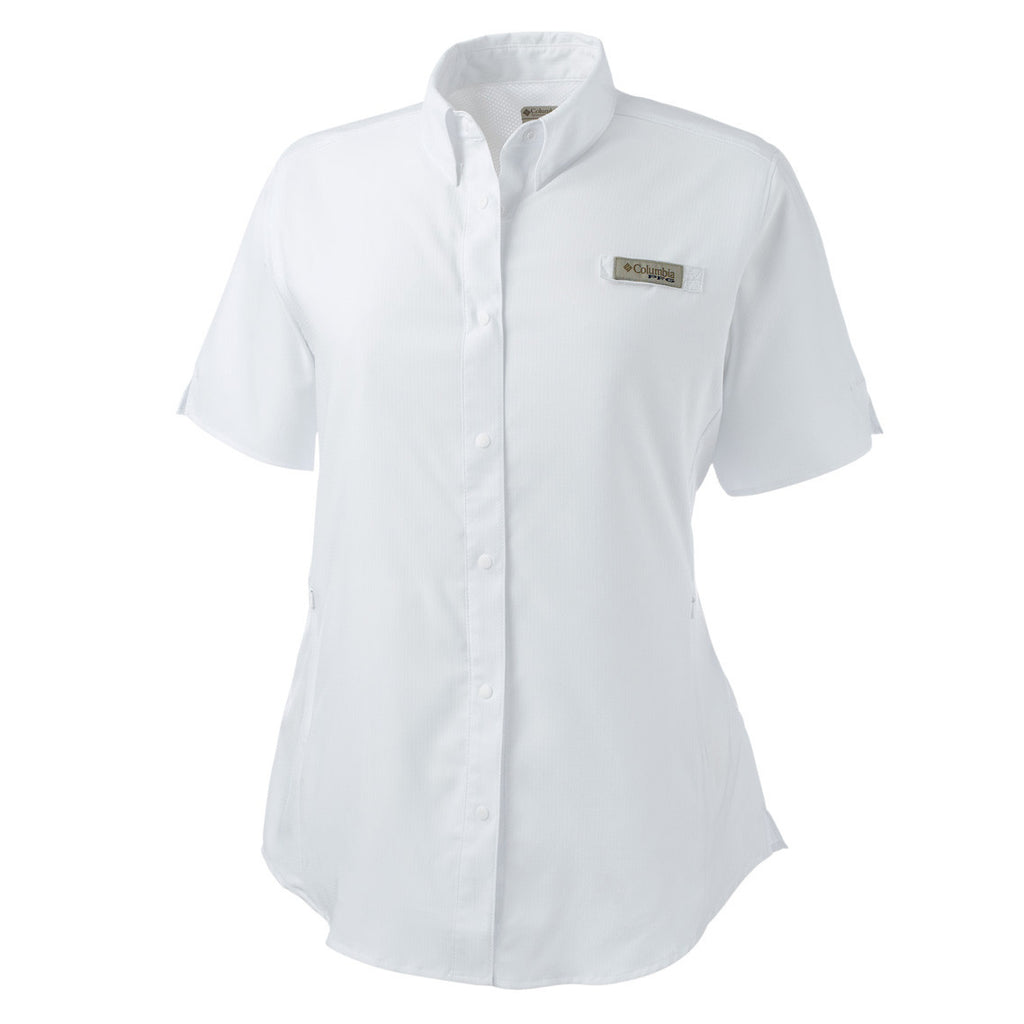 Columbia Women's White Tamiami II S/S Shirt
