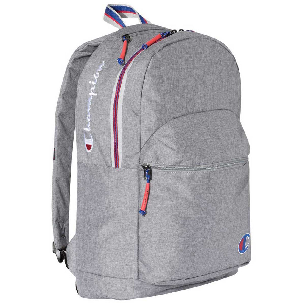 Champion Heather Medium Grey Concrete 21L Backpack