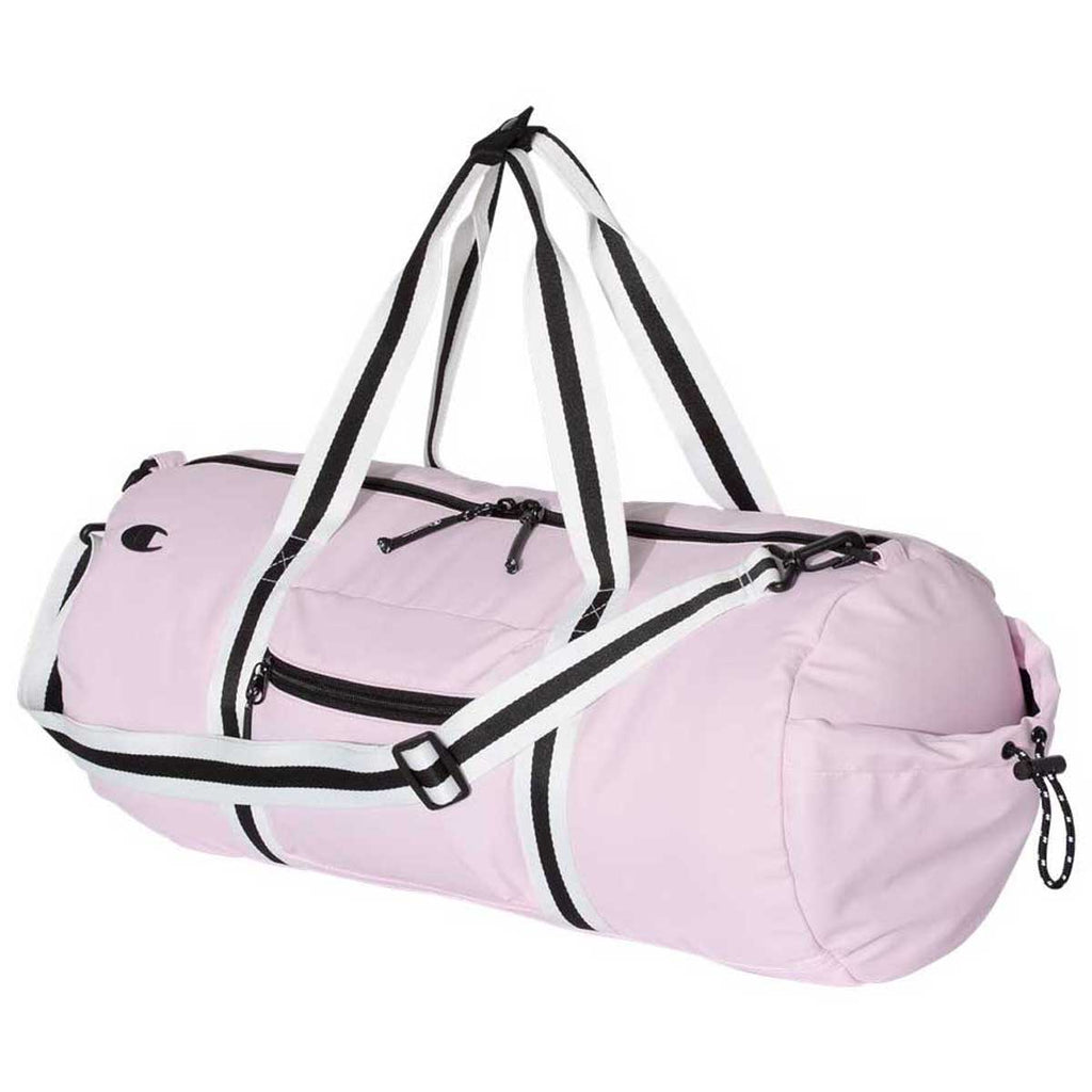Champion Light Pink 44L Branded Duffel Bag