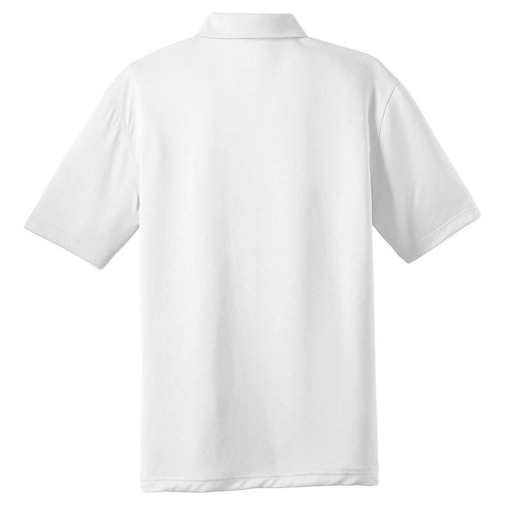 Cornerstone Men's White Select Snag-Proof Polo