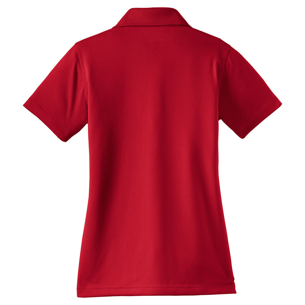 Cornerstone Women's Red Select Snag-Proof Polo