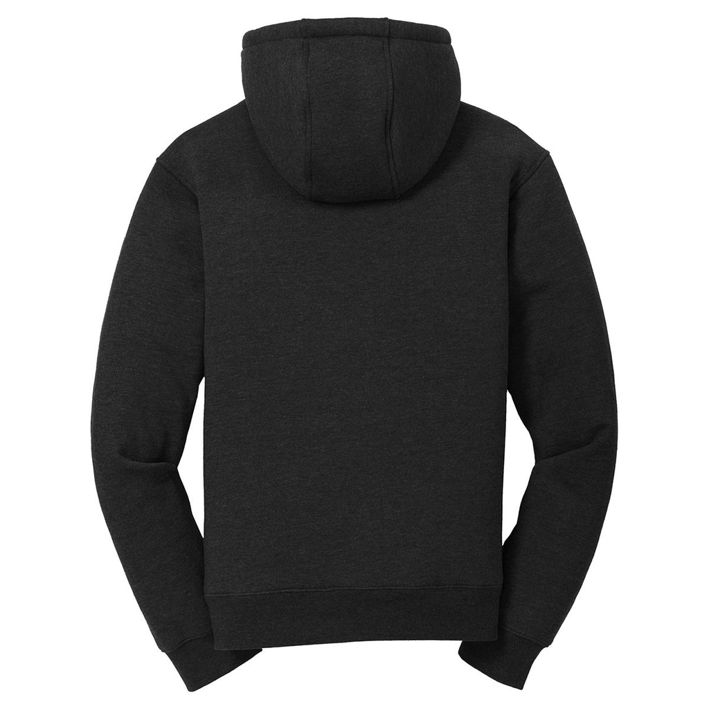 Cornerstone Men's Black Heavyweight Sherpa-Lined Hooded Fleece Jacket