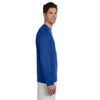 Champion Men's Double Dry Royal Blue L/S Performance T-Shirt