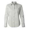 calvin-klein-womens-light-grey-stretch-shirt