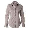 calvin-klein-womens-brown-micro-shirt