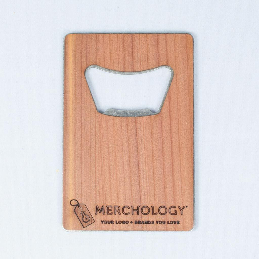 Woodchuck USA Walnut Credit Card Bottle Opener
