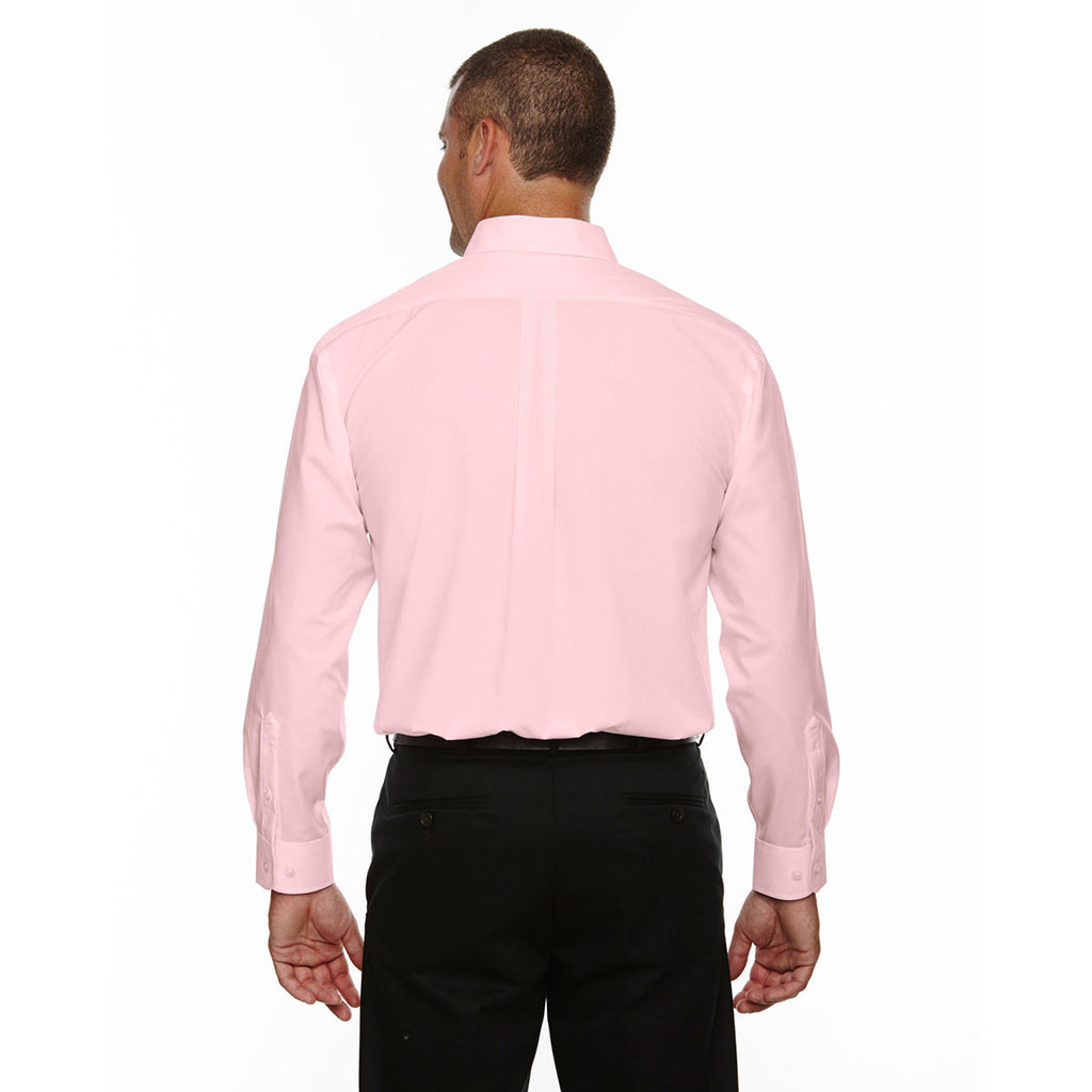 Devon & Jones Men's Pink Crown Collection Solid Broadcloth