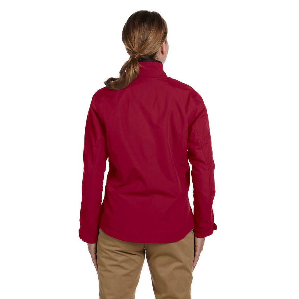 Devon & Jones Women's Crimson Three-Season Classic Jacket