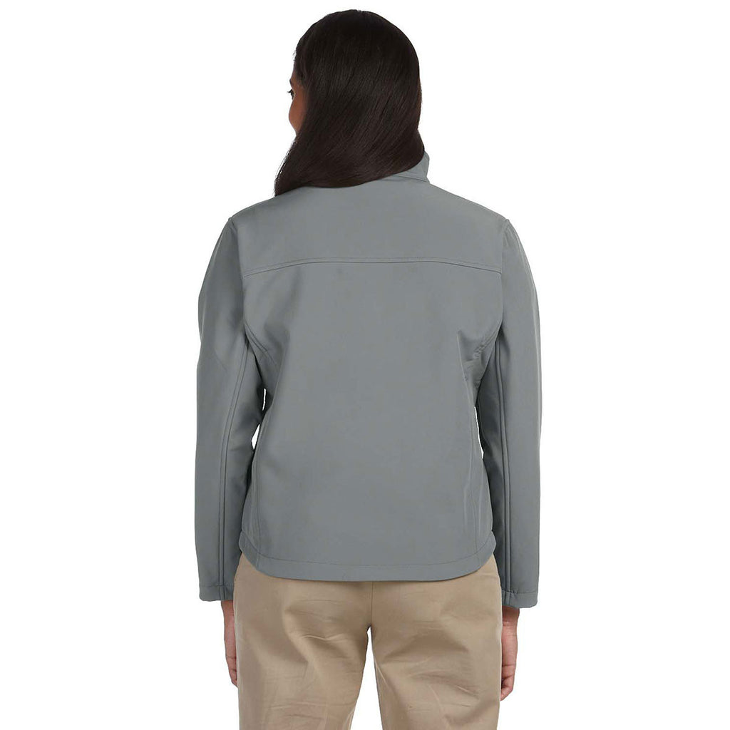 Devon & Jones Women's Charcoal Soft Shell Jacket