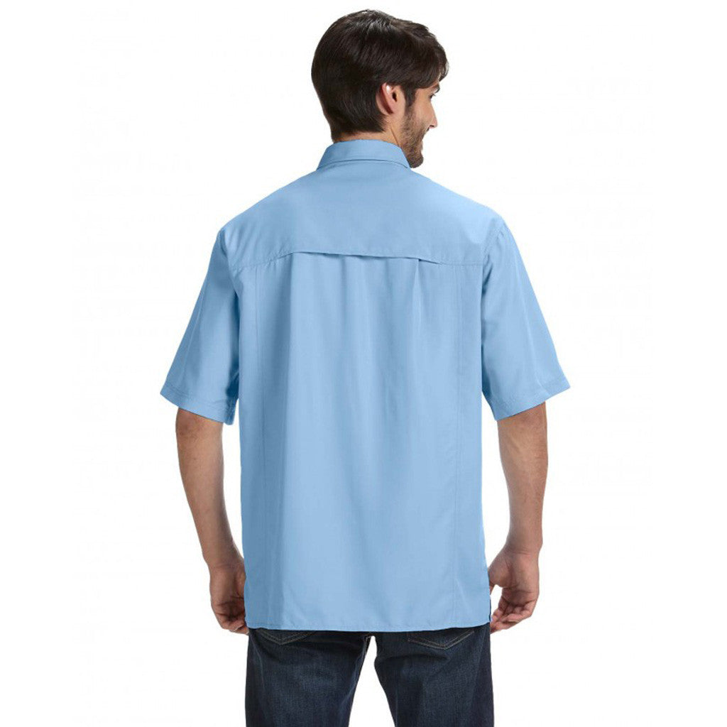 Dri Duck Men's Sky Short-Sleeve Catch Fishing Shirt