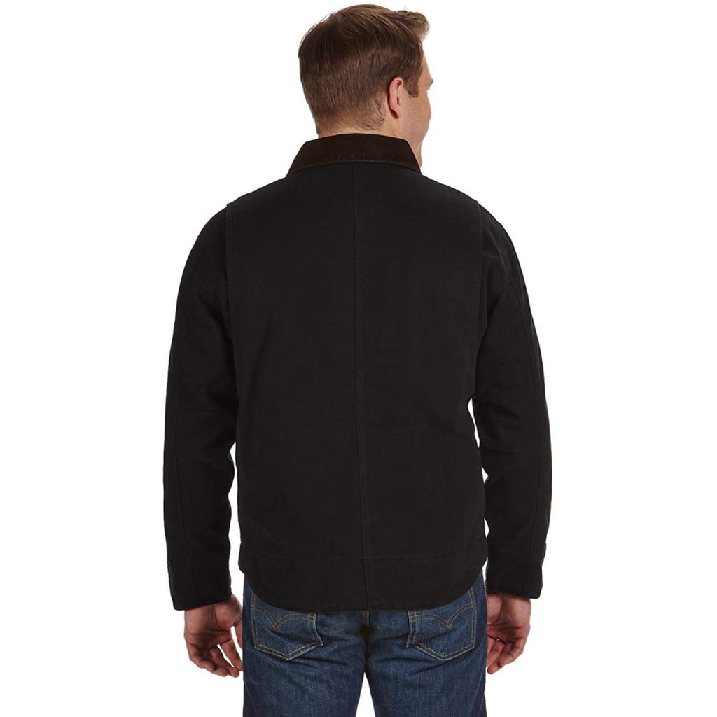 Dri Duck Men's Black Tall Outlaw Jacket