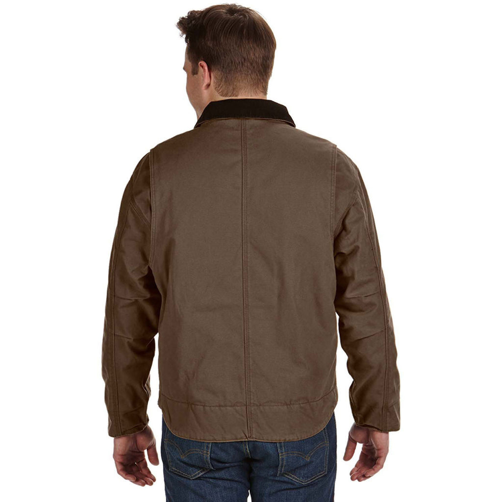 Dri Duck Men's Field Khaki Outlaw Jacket