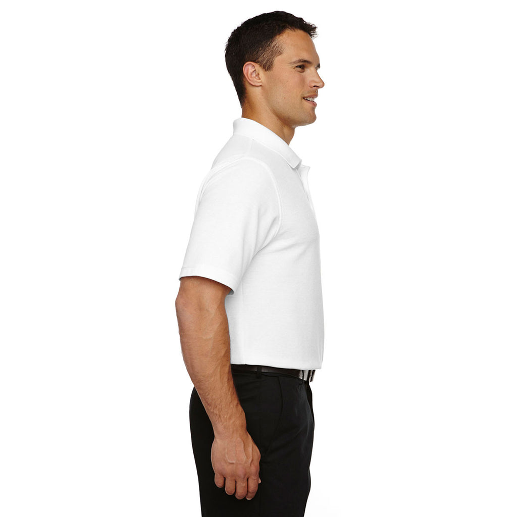 Devon & Jones Men's White Drytec 20 Tall Performance Polo