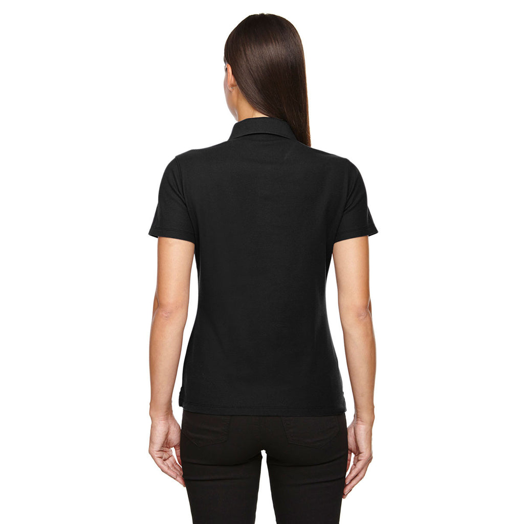 Devon & Jones Women's Black Drytec 20 Performance Polo