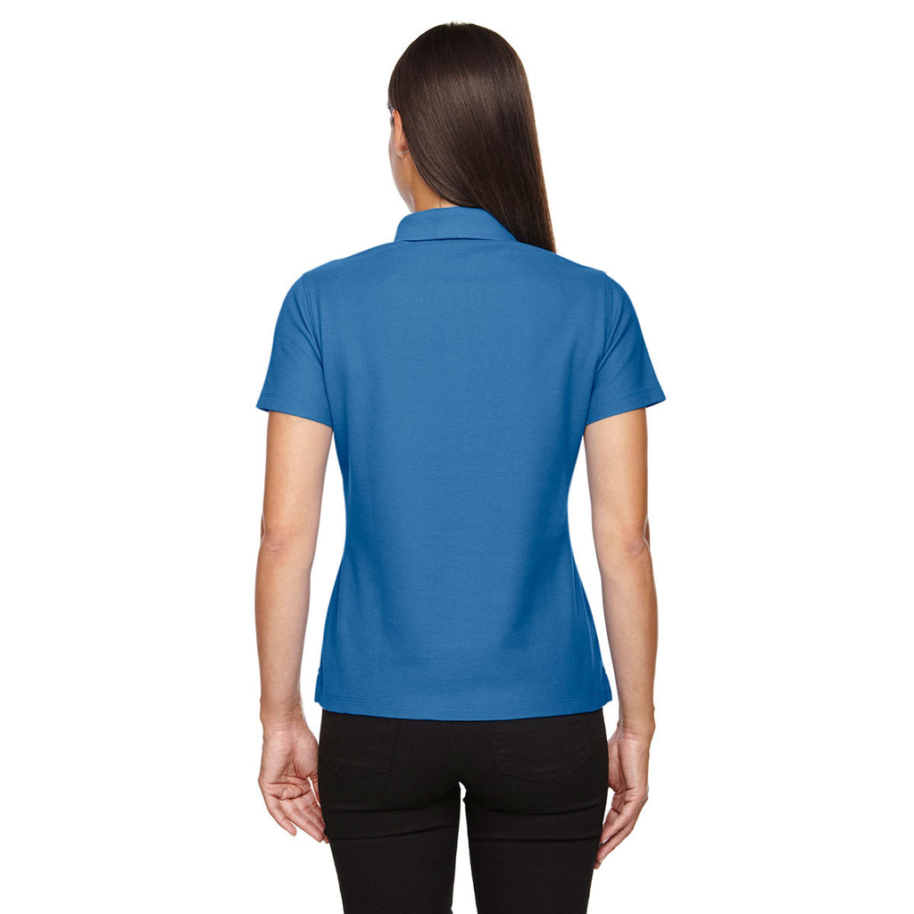 Devon & Jones Women's French Blue Drytec 20 Performance Polo