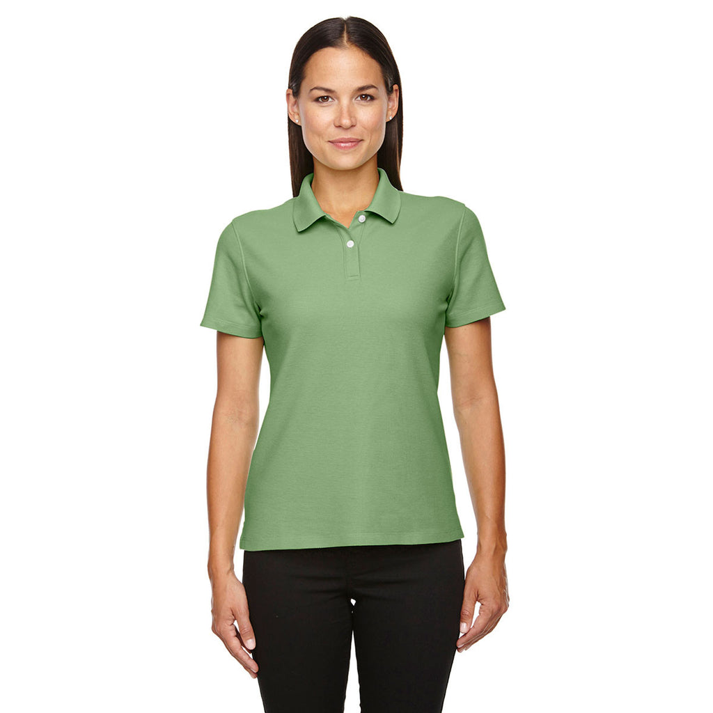 Devon & Jones Women's Lime Drytec 20 Performance Polo
