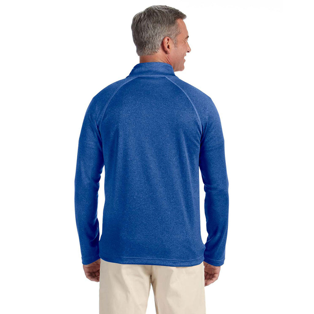 Devon & Jones Men's True Royal Stretch Tech-Shell Compass Full-Zip