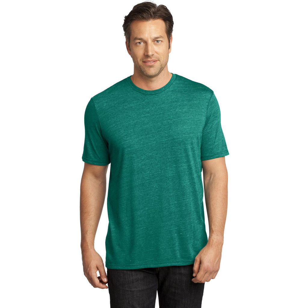 District Made Men's Evergreen Textured Crew Tee