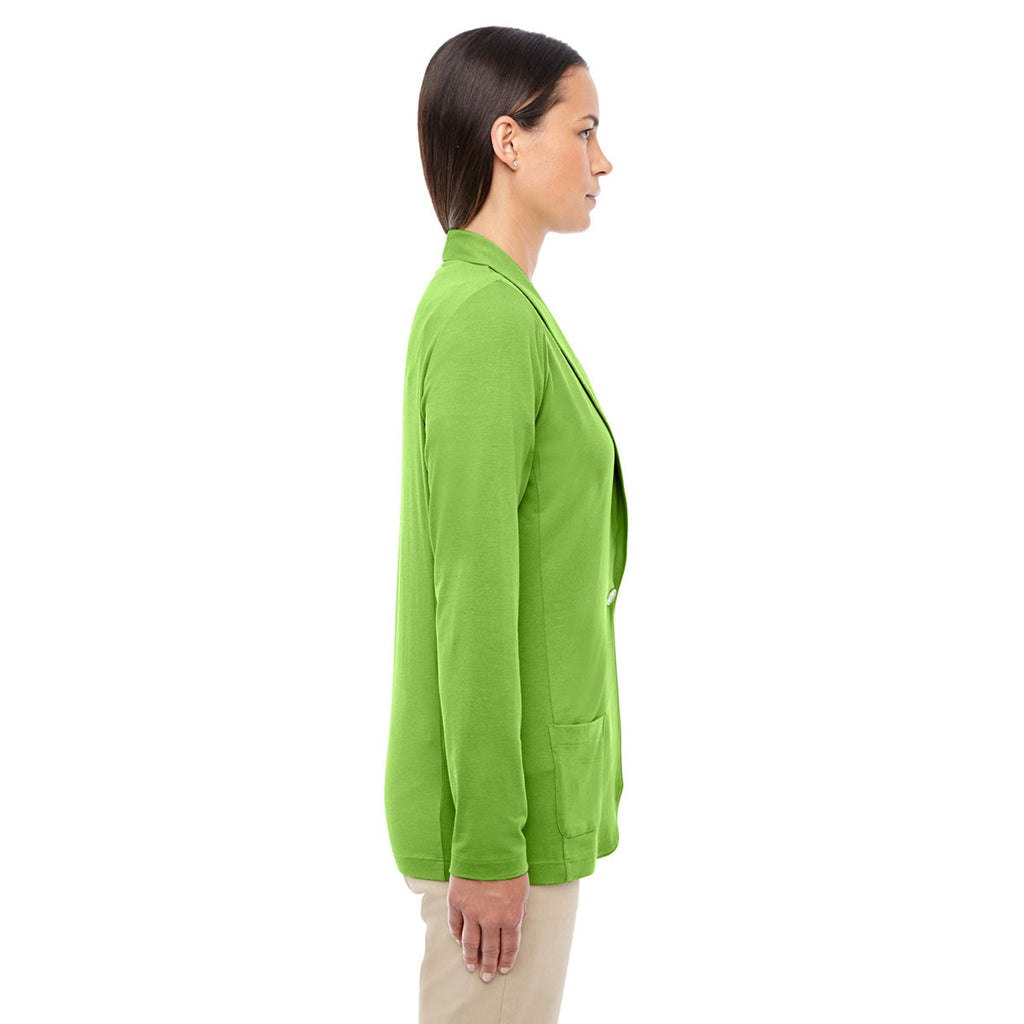 Devon & Jones Women's Lime Perfect Fit Shawl Collar Cardigan