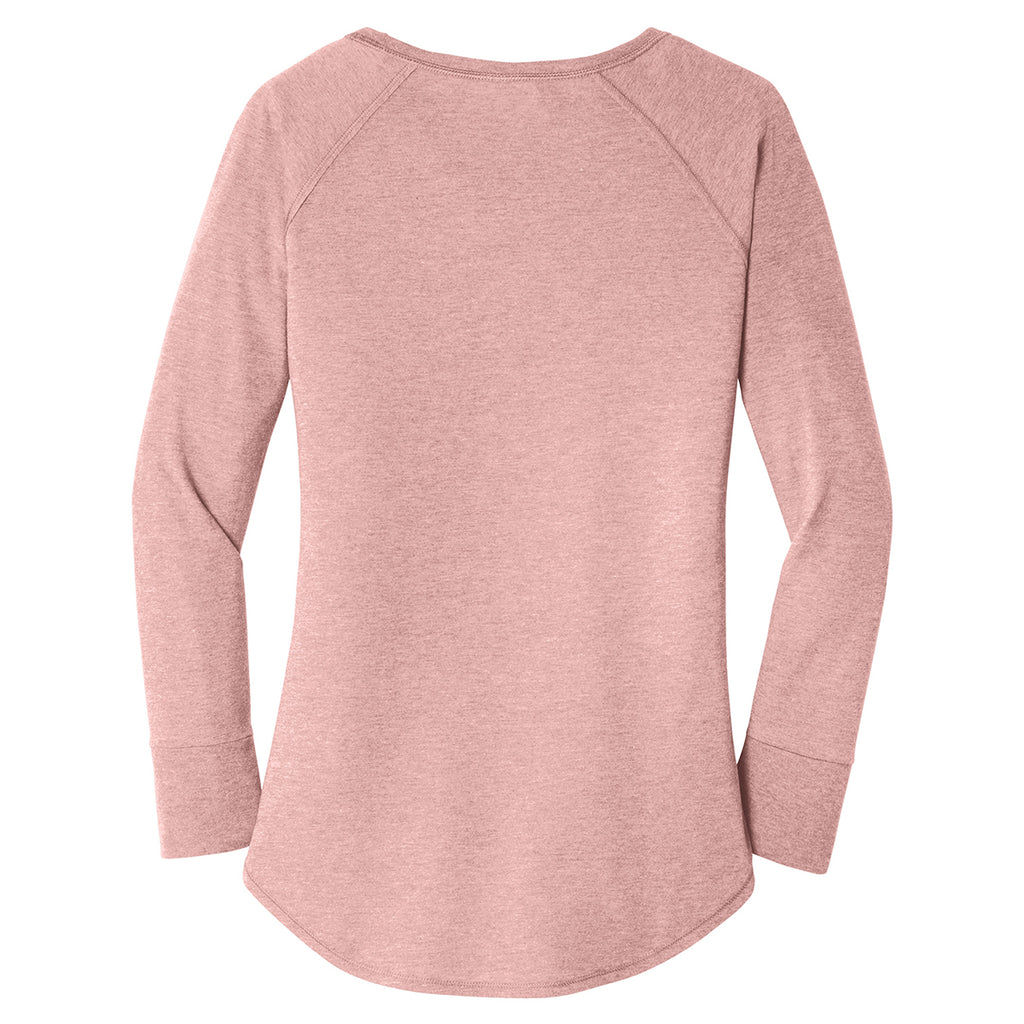 District Women's Blush Frost Perfect Tri Long Sleeve
