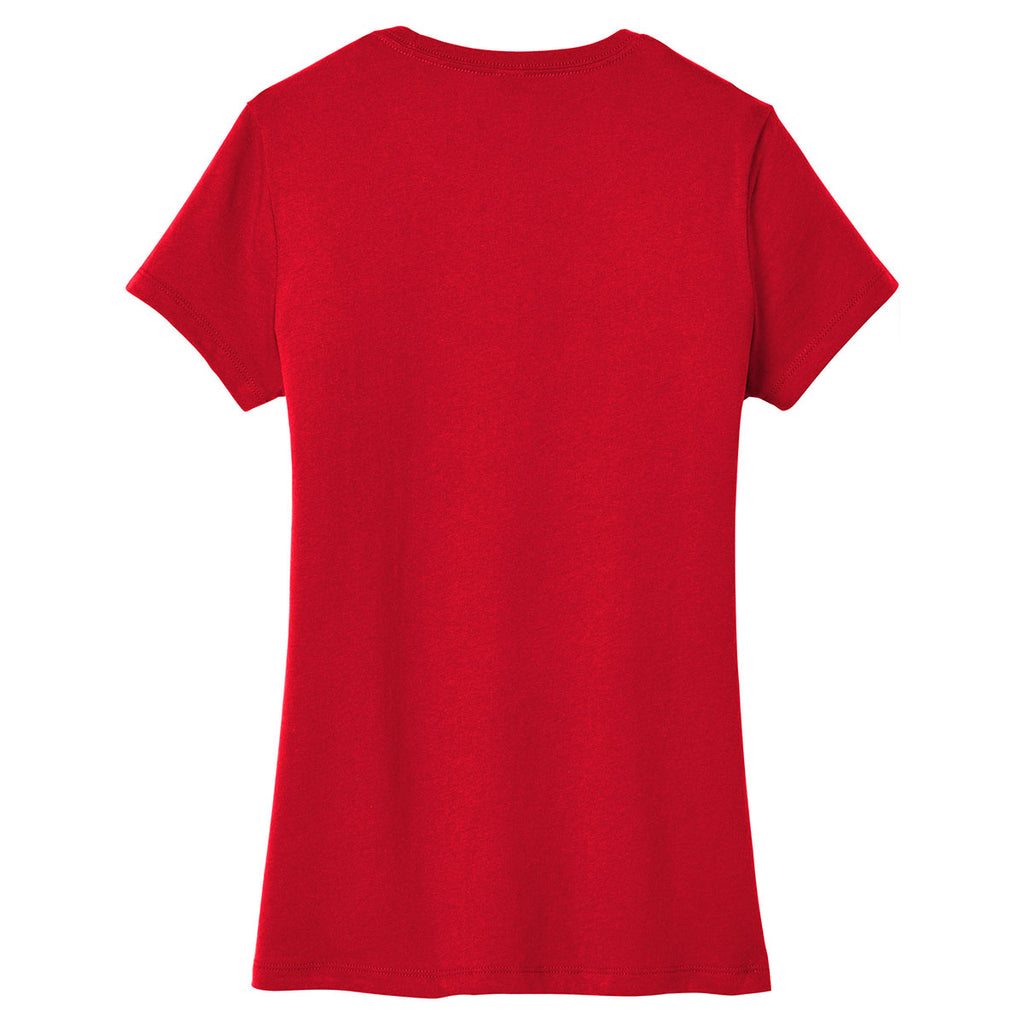 District Women's Classic Red Very Important Tee