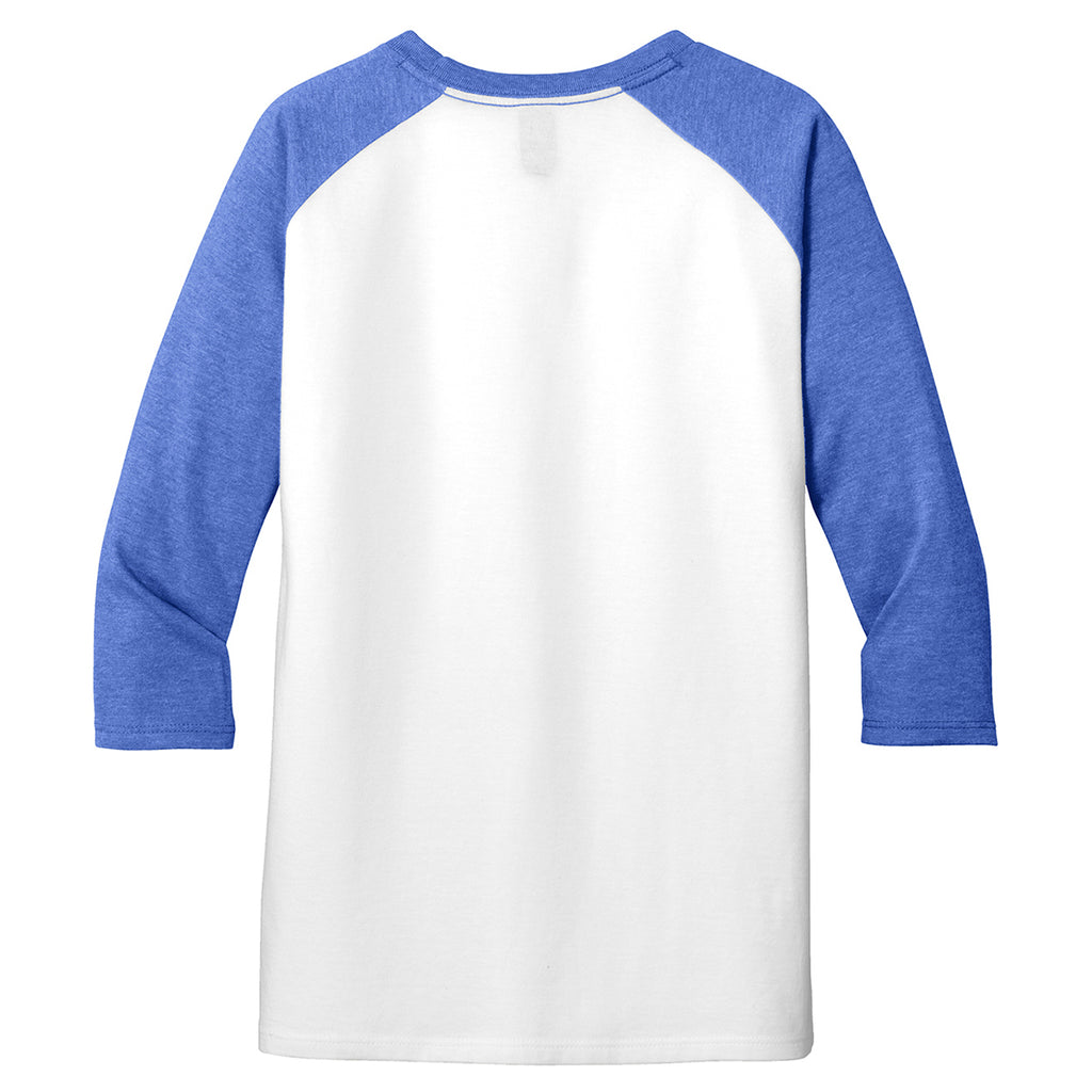 District Youth Royal Frost Very Important 3/4-Sleeve Tee