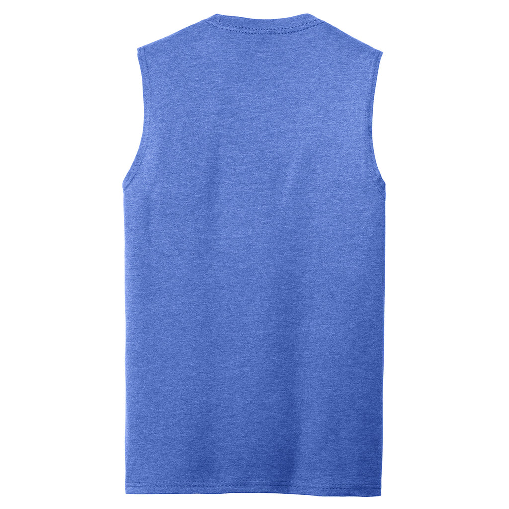 District Men's Royal Frost V.I.T. Muscle Tank