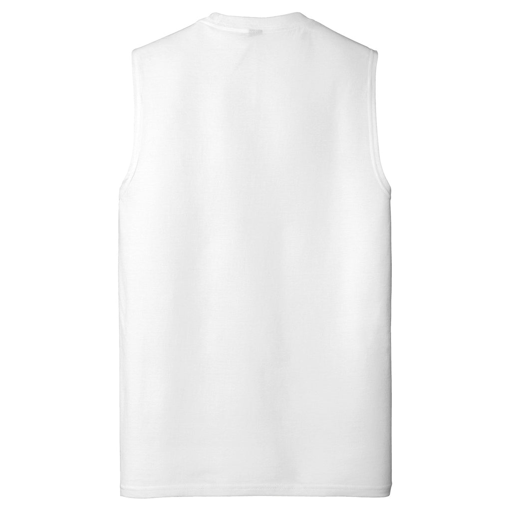 District Men's White V.I.T. Muscle Tank