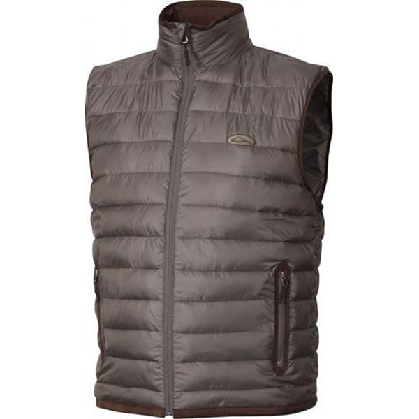 Drake Waterfowl Men S Lead Synthetic Double Down Vest