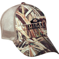 3ca0cb2be55 Drake Waterfowl Mossy Oak Blades Meshback Cap