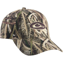 e53862b3f4a Drake Waterfowl Mossy Oak Blades Cotton Camo Cap