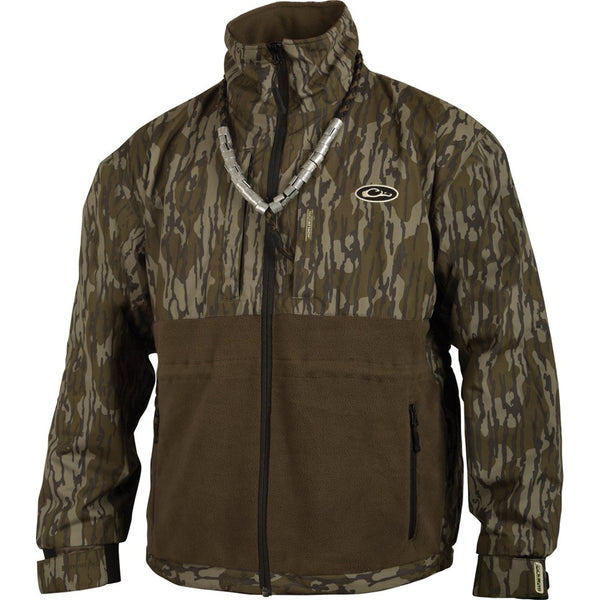 Drake Waterfowl Men S Mossy Oak Original Bottomland Eqwaderplus Full Z