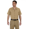 dickies-beige-industrial-short-sleeve-shirt