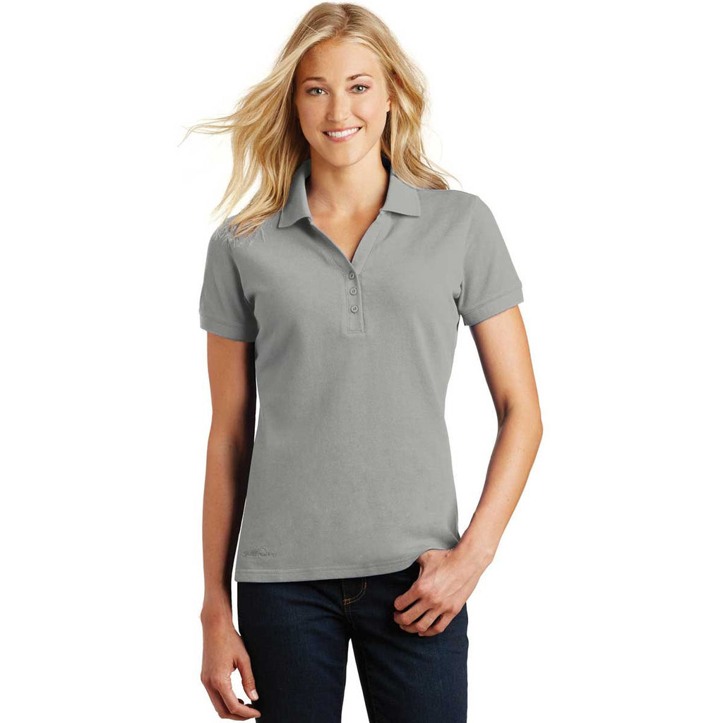 SoftPro - Eddie Bauer Women's Chrome Cotton Pique Polo